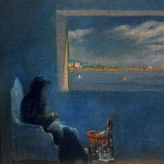 Dalí, Portrait of Grandmother Anna Sewing, 1920.  Dalí Theatre-Museum