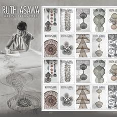 Ruth Asawa FOREVER stamps