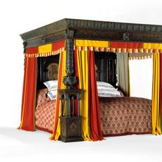 The Great Bed of Ware, 1590-1760 ©Victoria & Albert Museum, London