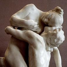 Camille Claudel, Sakuntala, marble, 1888, (1905 copy shown, Musée Rodin, Paris).