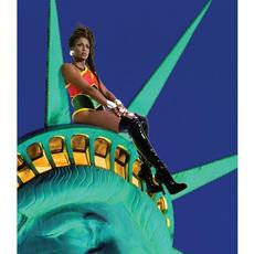 Renee Cox, Chillin; with Liberty, 1998.  Courtesy Renee Cox.