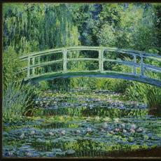 Claude Monet, Water Lilies and Japanese Bridge, 1899.  Oil paint on canvas; 35-5/8 x 35-5/16 in.  Princeton University Art Museum: From the Collection of William Church Osborn, Class of 1883, trustee of Princeton University (1914-1951), president of the Metropolitan Museum of Art (1941-1947); given by his family, 1972-15.  Image courtesy Princeton University Art Museum.
