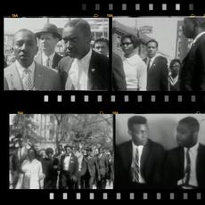 Reverend I.  DeQuincey Newman, Frederick Hart, and others arrested for participating in a civil rights march at the South Carolina State House, Columbia, South Carolina, March 2, 1961, from University of South Carolina Civil Rights Films, Moving Image Research Collections.