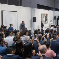 In the second half of 2019, Sotheby's fall sales series in Hong Kong, with 3,423 lots sold across 20 auctions conducted over five days, brought a total of HK$3.35 billion / US$426 million – the sixth consecutive Hong Kong series to exceed US$400 million (Estimate: HK$2.5 – 3.57 billion / US$318 – 456 million).