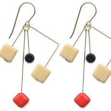 I.  Ronni Kappos Mobile Earrings.  The Museum of Craft and Design Shop, San Francisco.