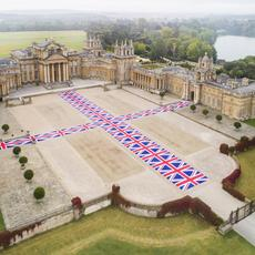 """Maurizio Cattelan at Blenheim Palace"" is on view to October 27, 2019."
