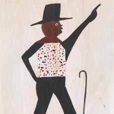 Bill Traylor (American, 1853-1949), Nothin' to Somethin' – Freedom, undated.  Collection of the Virginia Museum of Fine Arts, gift of B.K.  Fulton and Jackie Stone