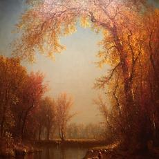 Sanford Robinson Gifford (1823–1880).  An Indian Summer Day on Claverack Creek, 1877–79.  Oil on canvas.  Promised Gift of Barrie A.  and Deedee Wigmore, in celebration of the Museum's 150th anniversary