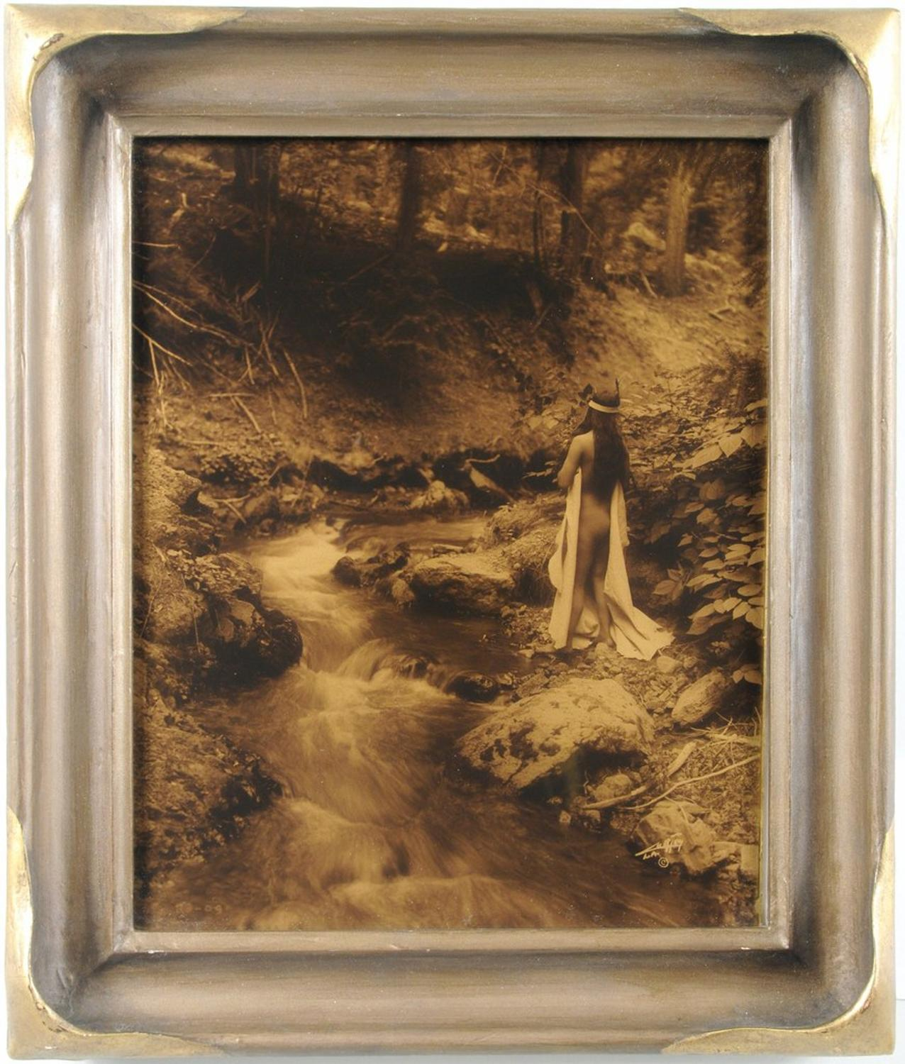 Rare Edward S Curtis Orotone Quot Maid Of Dreams Quot Surfaces At