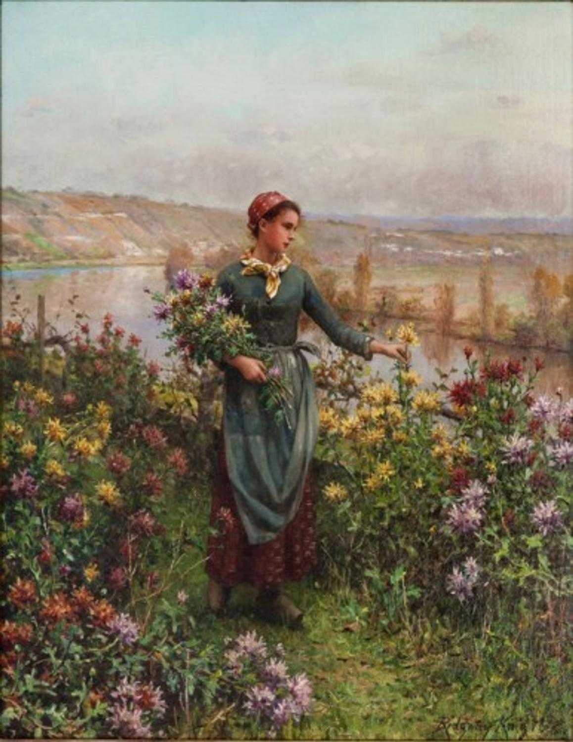Collecting Daniel Ridgway Knight Paintings Ackerman S