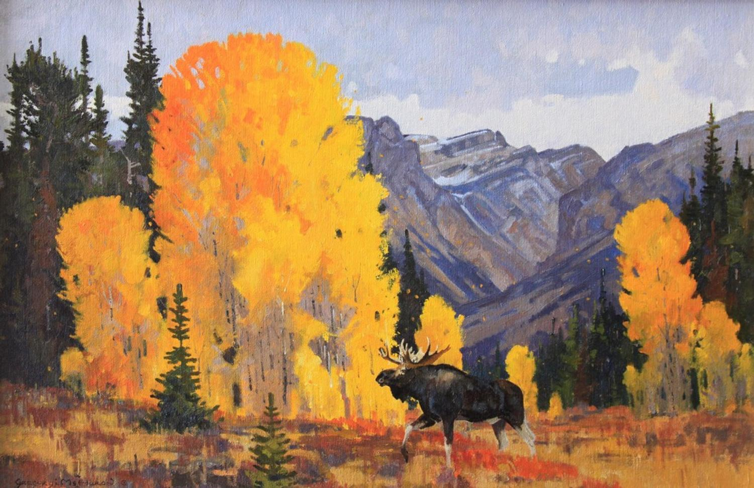renowned plein air painter gregory i  mchuron opens grand