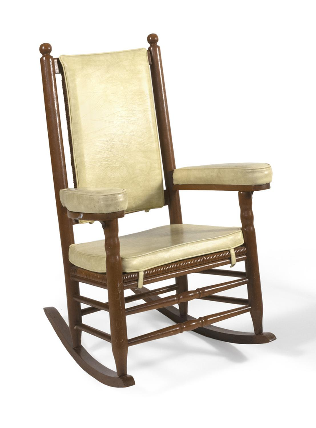 Iconic John F Kennedy Rocking Chair Sells For 60 000 At