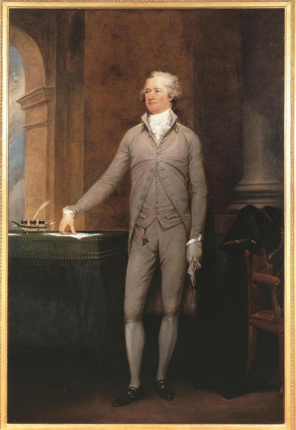 4242 Trumbull%E2%80%99s Iconic Portrait Of Alexander Hamilton Now On View At M on European Antiques Furniture