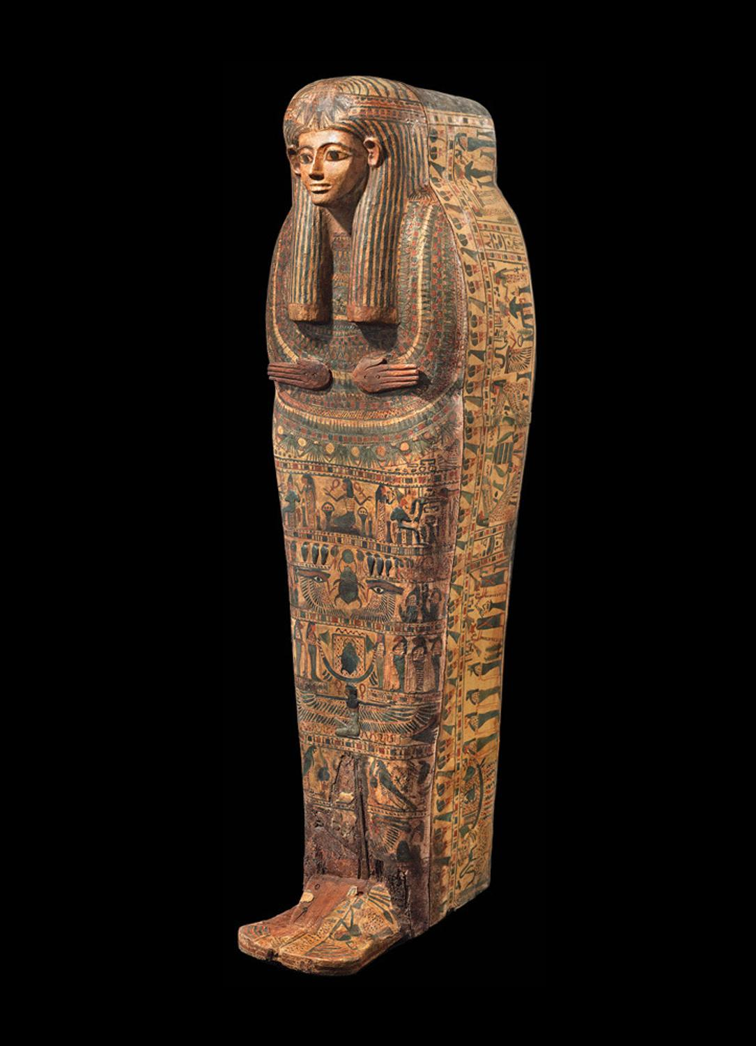 Safani Gallery To Offer Rare Anthropoid Sarcophagus Lid