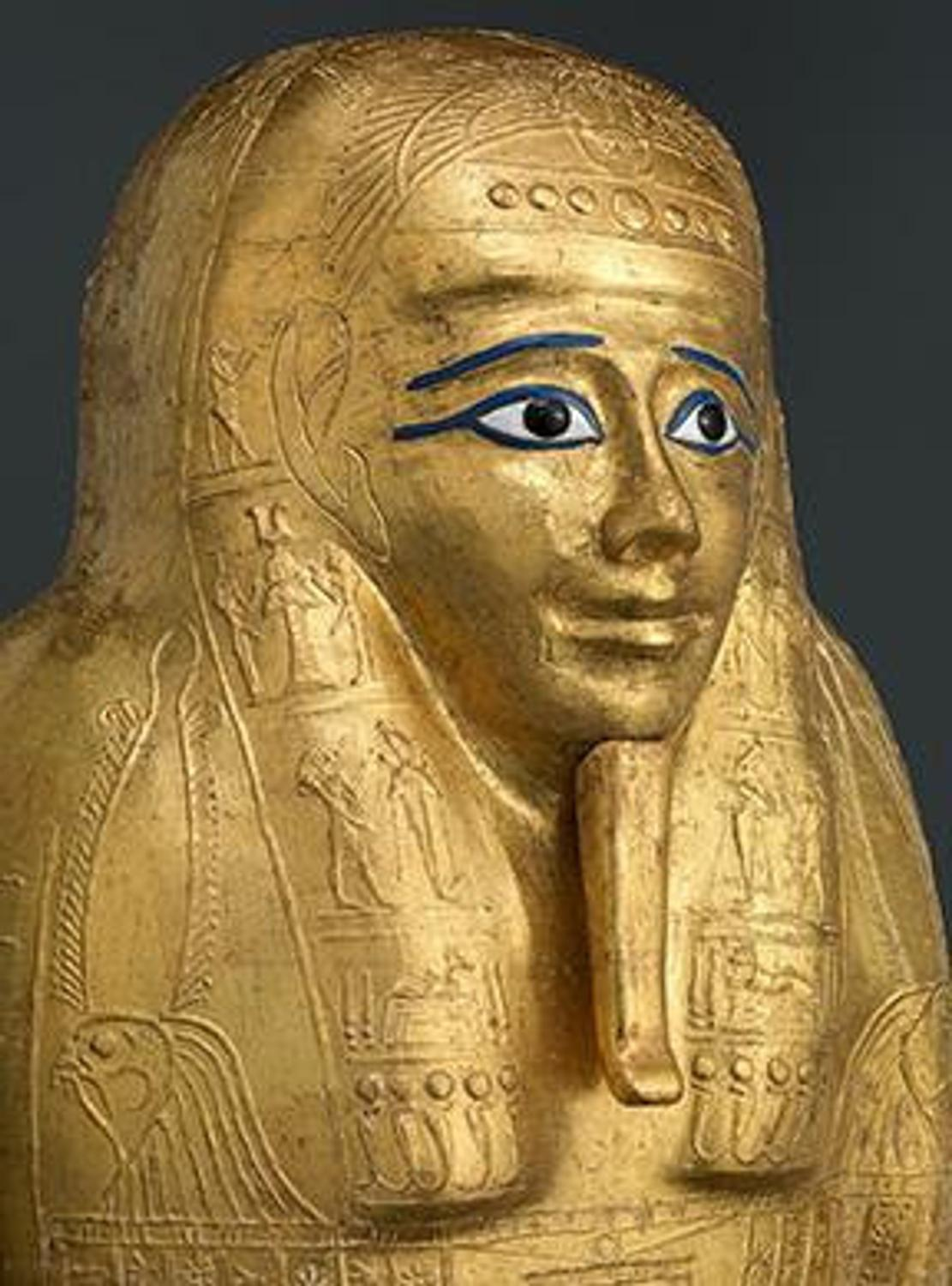 The Met Acquires Ancient Egyptian Gilded Coffin Artwire