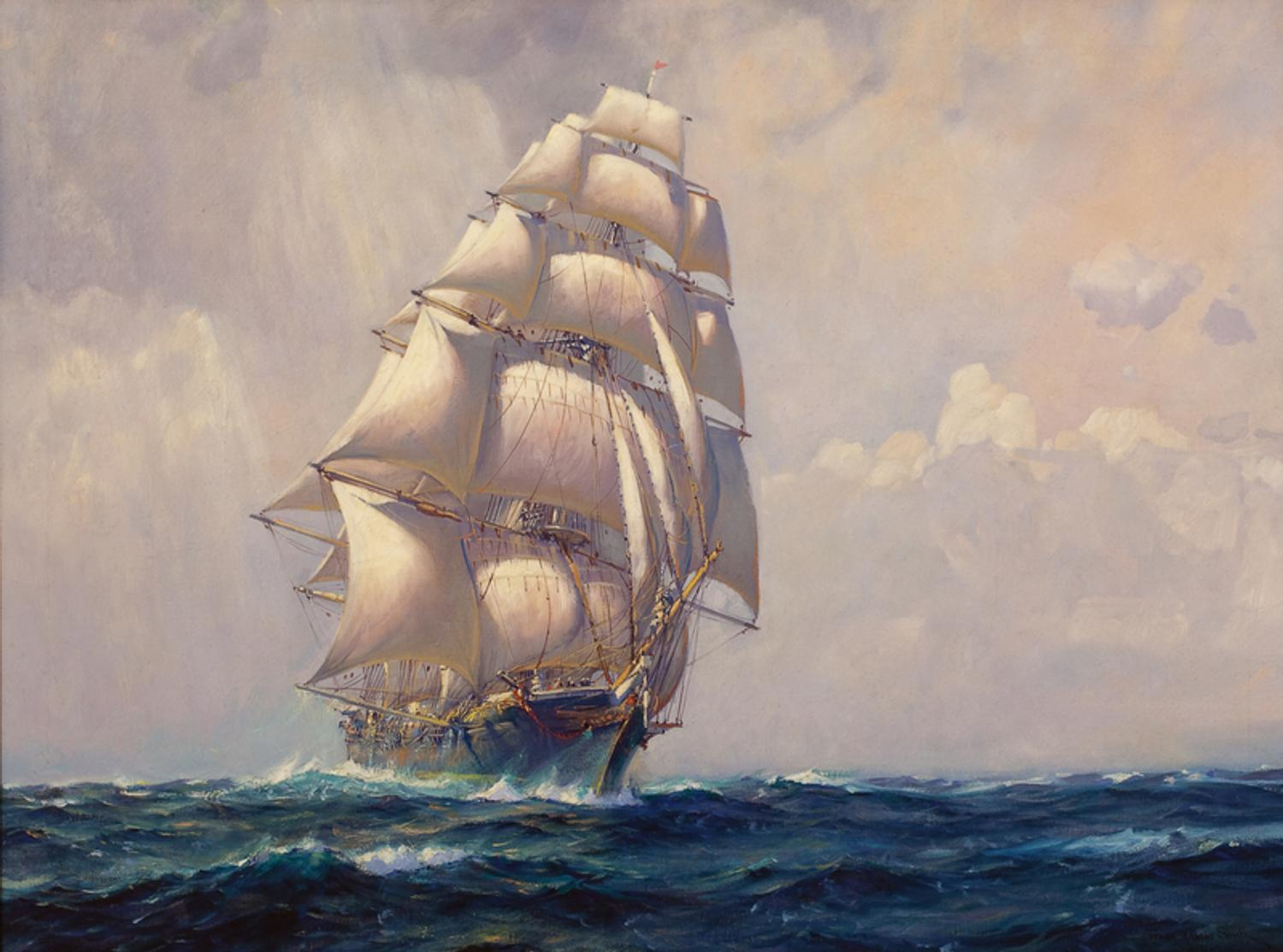 Frank Vining Smith Maritime Painting In The 20th Century