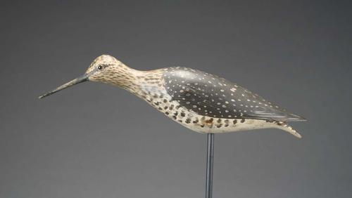 Running Yellowlegs by Elmer Crowell featured in the auction