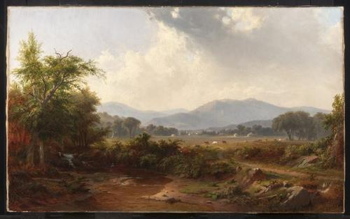 Photo credit: Landscape in the Smoky Mountains, Tennessee, by Robert S.  Duncanson.