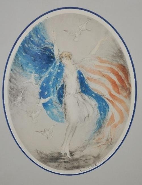 "Louis Icart ""Miss America"" at Gray's May 27 sale."