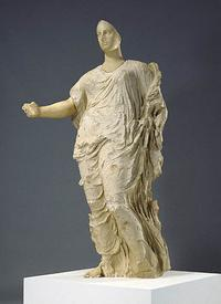 "Cult Statue of a Goddess (the ""Aphrodite"" aka ""Morgantina Venus""), 425-400 B.C., Greek, recently was returned to Sicily by the J.  Paul Getty Museum"