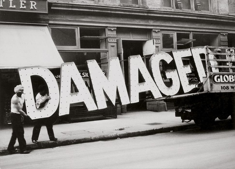 Walker Evans, Truck and Sign, 1928–30; private collection, San Francisco; © Walker Evans Archive, The Metropolitan Museum of Art, New York
