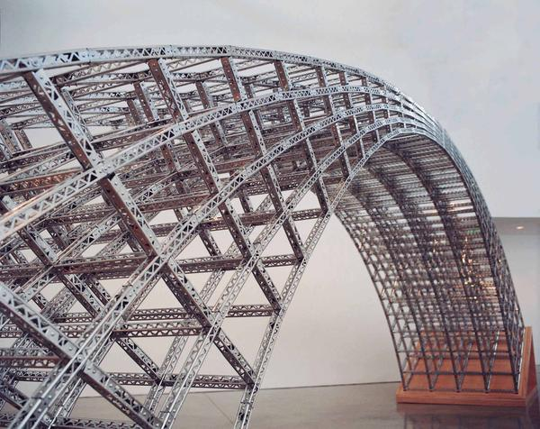 Chris Burden, Curved Bridge, 2003.  Courtesy Galerie Krinzinger, Vienna