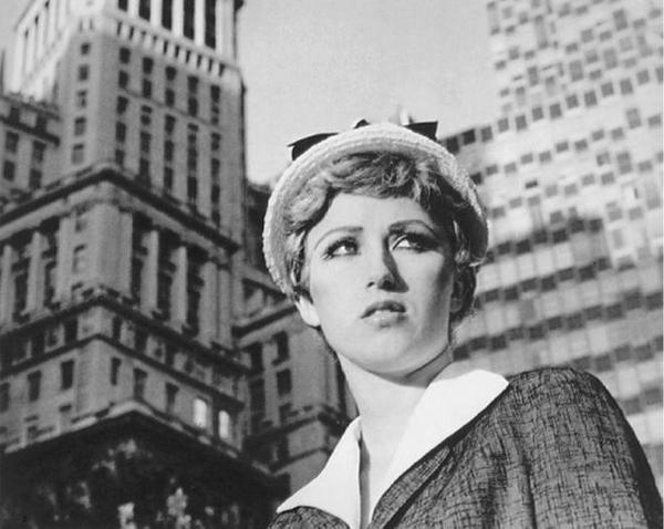 "Cindy Sherman (b.  1954) Untitled Film Still #21, signed, dated ©1978 and inscribed ""City Girl"" on the reverse gelatin silver print, 8 by 10 in.  sold for $746,500 (including buyer's premium) from an estimate of $150,000-200,000 at Sotheby's on March 9."