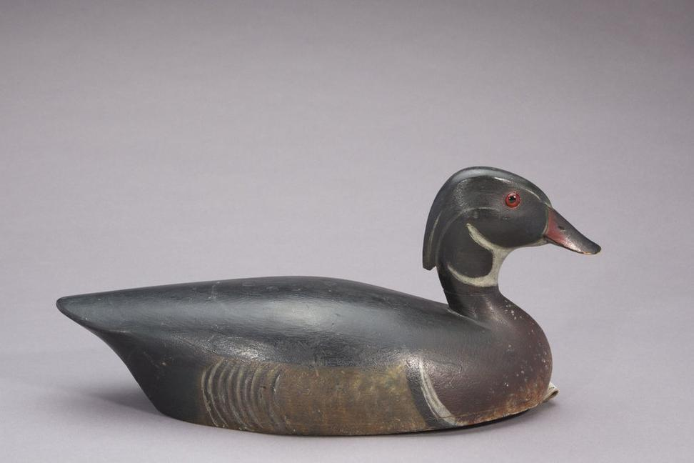 Thomas Chambers (1860-1948), Wood Duck Drake, c.  1900, Sold for $270,000