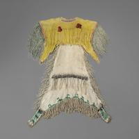 Kiowa Woman's Beaded Hide Dress, c.  1870's (Lot 159, Estimate: $60,000-80,000)