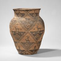 Apache Pictorial Basketry Olla, c.  early 20th century (Lot 312, Estimate: $7,000-9,000)