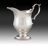 From Silver from Mine to Masterpiece: Cream Pot, Thomas You, Charleston, South Carolina, ca.  1775, silver, Museum Purchase, The Friends of Colonial Williamsburg Collections Fund, 2015-145