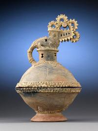 This Incense Burner, or Incensario, was likely used in a ritual and filled with a hallucinogenic herb that allowed for spiritual awakening.