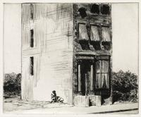 Lot 304: Edward Hopper, The Lonely House, etching, 1923.  Estimate $150,000 to $200,000.
