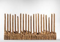 Ursula von Rydingsvard (German/American, b.  1942) Untitled Wooden Assemblage (Lot 292, Estimate $19,000-21,000)