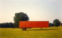 William Christenberry, Red Trailer, Livingston, Alabama, 1976 (estimate: $2,500-3,500)
