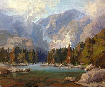 Rocky mountain plein air painters plein air for the park for America s finest paint