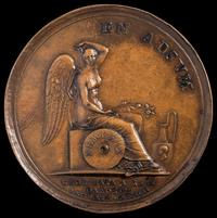 Abolition of the Slave Trade Medal (back), dies by Pietro Leonardo Gianelli, Denmark, 1792, bronze, Museum Purchase, Lasser Numismatics Fund; and Partial Gift, John Kraljevich