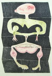 Fred Becker, Exquisite Corpse, 1960
