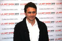 Guest of Honor James Franco at the LA Art Show