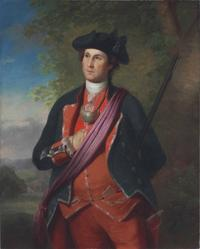 REMBRANDT PEALE (1778- 1860) AFTER CHARLES WILLSON PEALE (1741-1827) Portrait of George Washington as a Colonel of the Alexandria Militia, early 19th Century.  Oil on canvas.  Estimate: $400,000-600,000