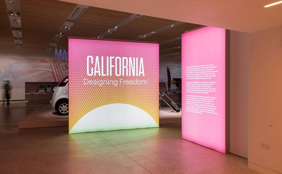 California: Designing Freedom installation