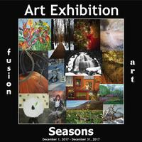 "Fusion Art's ""Seasons"" Art Exhibition is Now Open www.fusionartps.com"