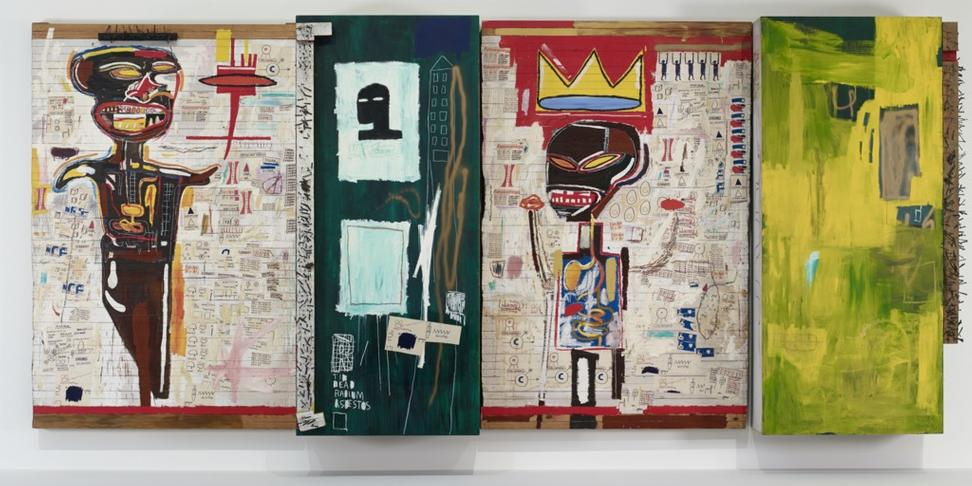 Jean-Michel Basquiat, Grillo, 1984.  Collection Fondation Louis Vuitton.