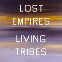 "Ed Ruscha's ""Lost Empires, Living Tribes,"" 1984.  (Ed Ruscha / The Marciano Collection, Los Angeles)"