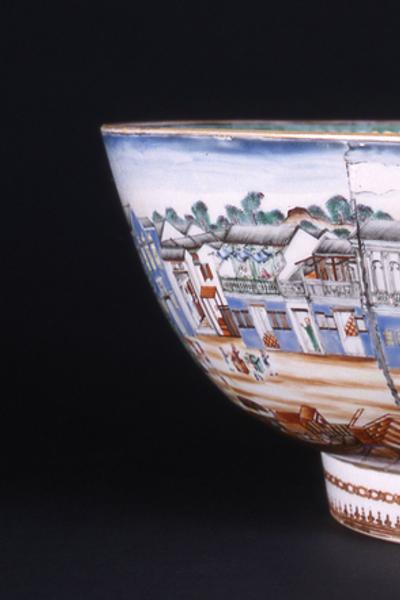 Hong Punch Bowl.  Norton Museum of Art.