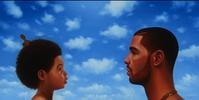 "Kadir Nelson Drake: ""Nothing Was the Same"", 2013 Oil on Linen, 62"" x 30"" Cash Money Records"