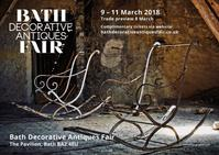 Bath Decorative Antiques Fair 2018